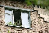 Fenêtre abandonné — Photo