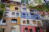 Hundertwasser haus a vienna, austria — Foto Stock