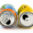 Crushed cans — Stock Photo