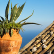 Mediterranean view — Stock Photo
