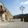 Stock Photo: Old Sicilivillage square
