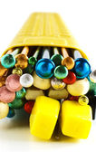 Knitting needles — Stock Photo