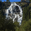 Alpine waterfall — Stock Photo