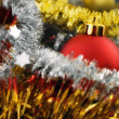 Royalty-Free Stock Photo: Red bauble
