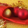 Royalty-Free Stock Photo: Three baubles