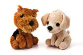 Two dog toys — Stock Photo