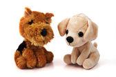 Two dog toys — Stock Photo