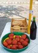 Mediterranean food — Stock Photo