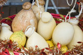Italian cheese provola — Stock Photo