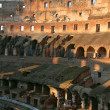 Stock Photo: Colosseum Rome, Italy interior detail