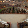 Stock Photo: Areninside Colosseum Rome, Italy