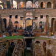 Colosseum Rome Italy interior — Stock Photo
