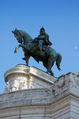 The Victor Emmanuel II Monument in Rome — Stock Photo
