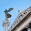 Peace's angel statue, Rome detail — Stock Photo
