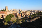 Panoramic view of Rome, Italy — Stock Photo