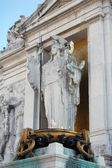 Victor Emmanuel Monument, Rome detail — Stock Photo