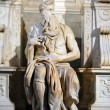 Stock Photo: Statue of Moses, Rome