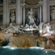 Di Trevi fountain, Rome - Stock Photo