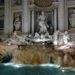 Di Trevi fountain, Rome — Stock Photo