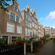 Houses in Amsterdam, Netherlands — Stock Photo