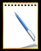 Paper notebook — Stock Vector