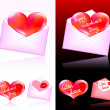 Stock Vector: Valentines