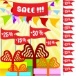 Royalty-Free Stock 矢量图片: Poster for holiday sale 3