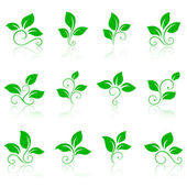 Nature icons 2 — Stock Vector