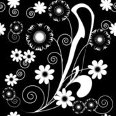Art flowers — Stock Vector