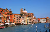 The Grand Canal in Venice, — Stock Photo