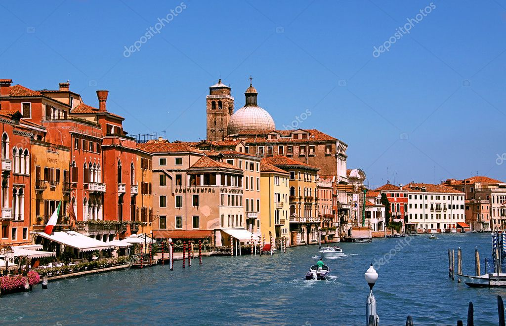 The Grand Canal in Venice, Italy — Stock Photo #2735511