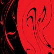 It is red black divorces — Imagen vectorial