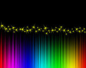 Färg våg — Stockfoto