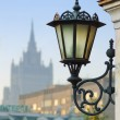 Wall mount street lamp — Stock Photo
