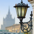Royalty-Free Stock Photo: Wall mount street lamp