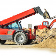 Construction machines - Stock Photo
