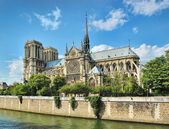 Notre-Dame (Paris) — Stock Photo