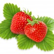 Beautiful strawberries — Stock Photo
