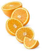 Ломтики апельсинов — Стоковое фото