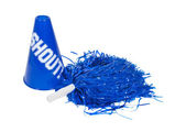 Pom Pom and Megaphone — Foto Stock