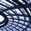 Stock Photo: Reichstag dome 3