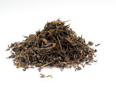 Dry black tea — Stock Photo