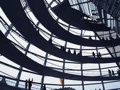Reichstag dome — Stock Photo