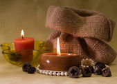 Aromatic candle's — Stock Photo