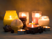 Aromatic candle's 3 — Stock Photo