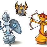 ������, ������: Chess set: Pawns