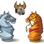������, ������: Chess set: Knights