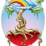The World Tree — Stock Vector