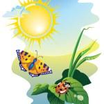Harmony in sunny day — Stock Vector #3118047