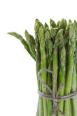 Bundle of green asparagus — Stock Photo